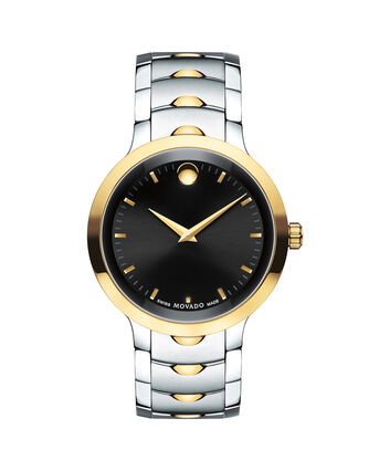MOVADO Luno0607043 – Men's 40 mm bracelet watch - Front view