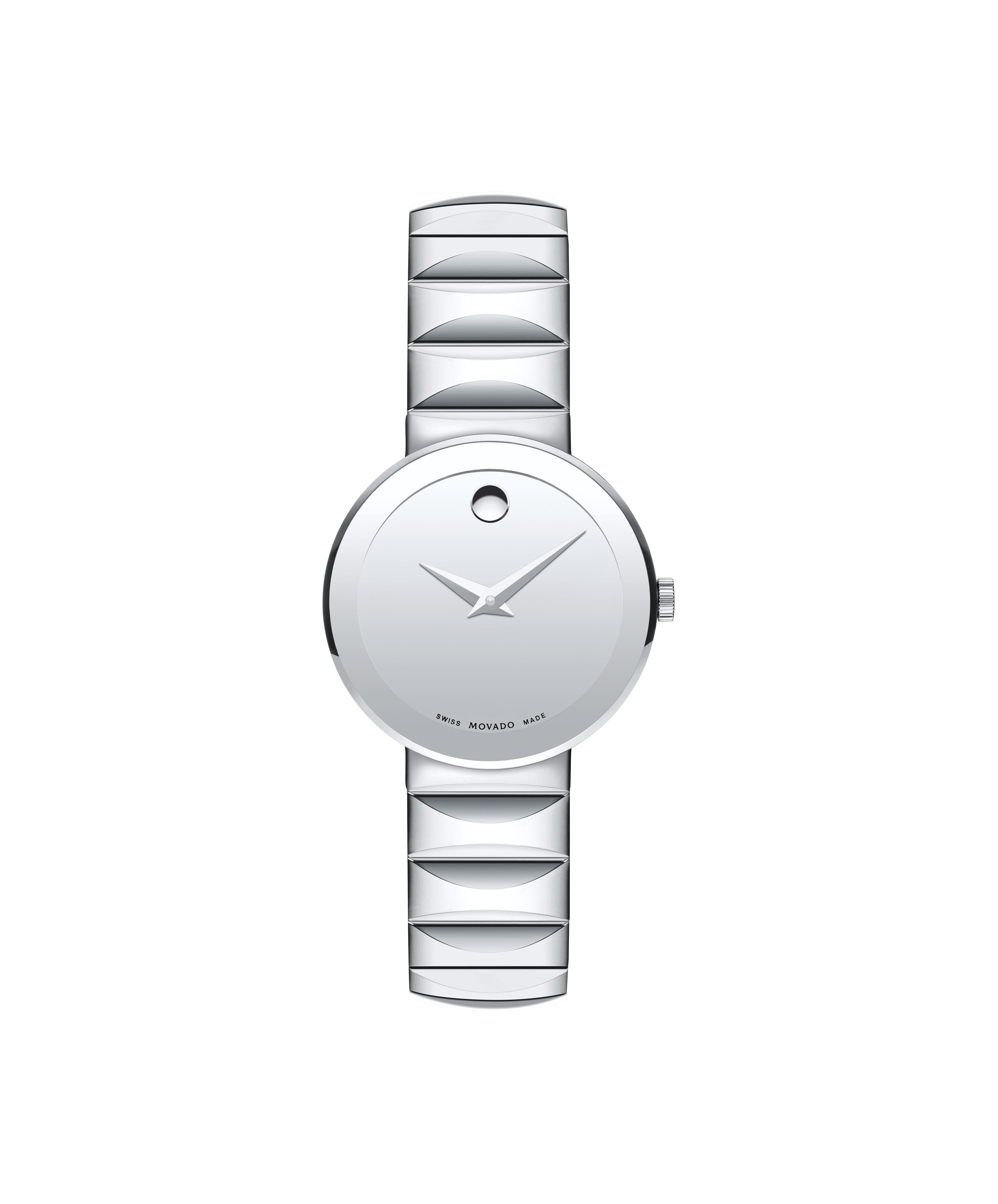 New MOVADO Sapphire0607213 U2013 Womenu0027s 26 Mm Bracelet Watch   Front View