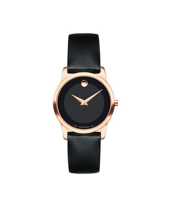 MOVADO Museum Classic0607079 – Women's 28 mm strap watch - Front view