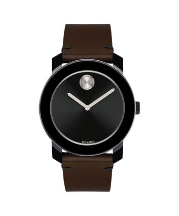 MOVADO Movado BOLD3600443 – 42mm Colorado leather strap watch - Front view