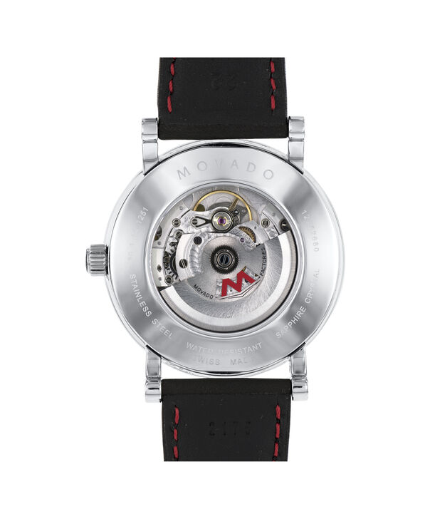 MOVADO Red Label0606845 – Men's 42 mm automatic day/date - Back view