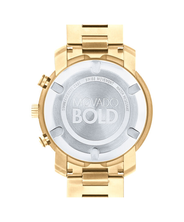 MOVADO Movado BOLD3600485 – 48 mm Metals bracelet chronograph - Back view