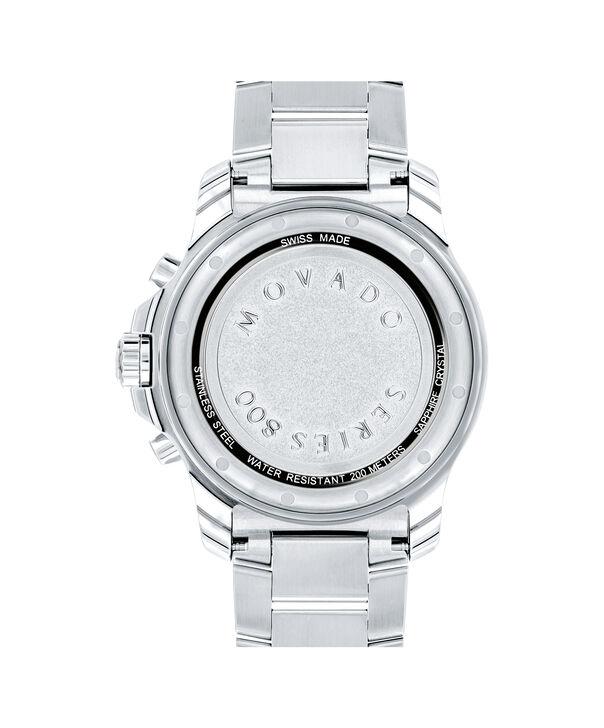 MOVADO Series 8002600142 – Men's 42 mm bracelet chronograph - Back view
