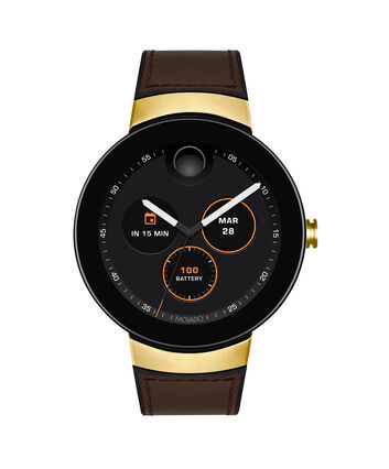 MOVADO Movado Connect3660021 – 46.5 mm display smartwatch - Front view