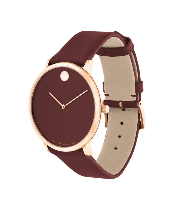 MOVADO Modern 470607261 – Movado.com EXCLUSIVE 40mm strap watch - Side view