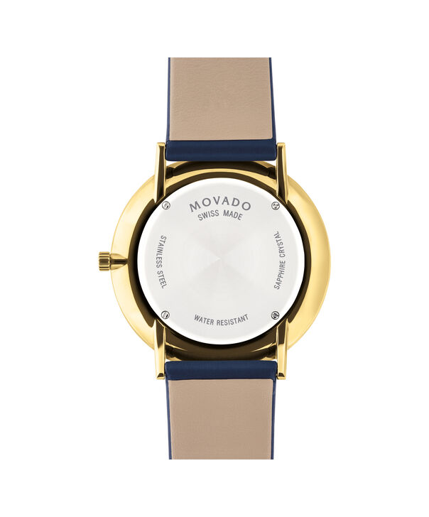 MOVADO Modern 470607259 – Movado.com EXCLUSIVE 40mm strap watch - Back view