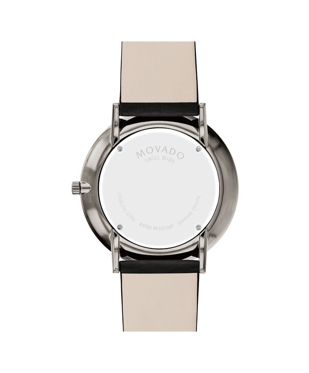 MOVADO Modern 470607334 – 40 mm Modern 47 on Textured Strap - Back view