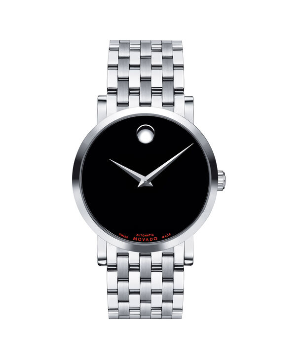 Movado | Red Label Men's Stainless Steel Automatic Bracelet Watch