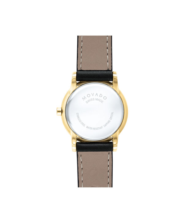 MOVADO Museum Classic0607275 – Women's 28 mm strap watch - Back view