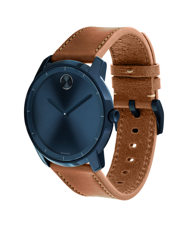 MOVADO Movado BOLD3600470 – Men's 44 mm strap watch - Side view