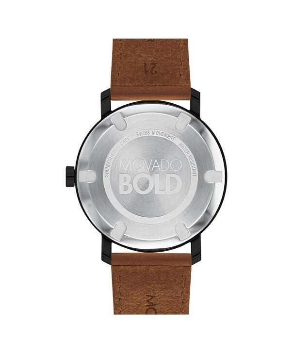 MOVADO Movado BOLD3600537 – Men's 40 mm strap watch - Back view