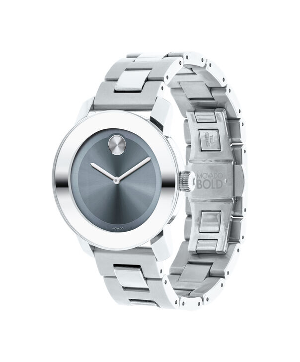 MOVADO Movado BOLD3600518 – 36 mm Metals bracelet watch - Side view