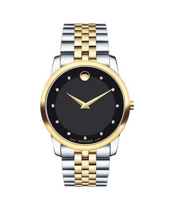 MOVADO Museum Classic0606879 – Men's 40 mm bracelet watch - Front view