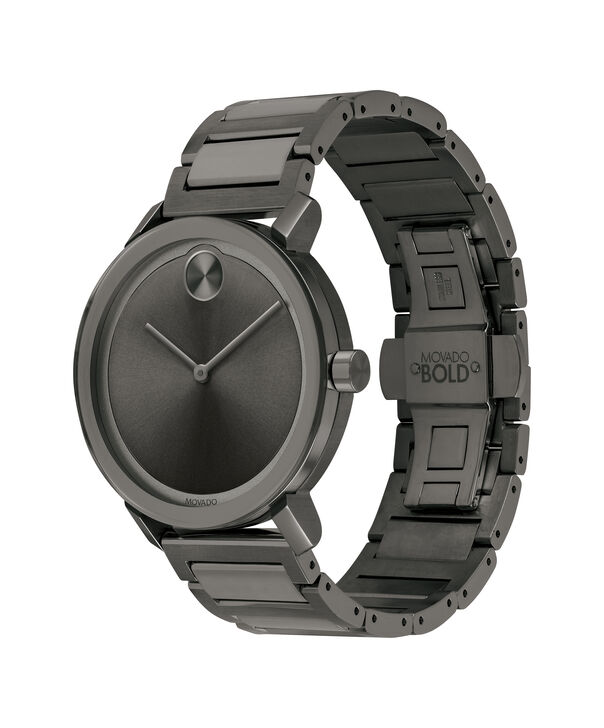 MOVADO Movado BOLD3600509 – Men's 40 mm bracelet watch - Side view