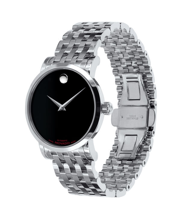 MOVADO Red Label0606115 – Men's 38 mm automatic bracelet - Side view