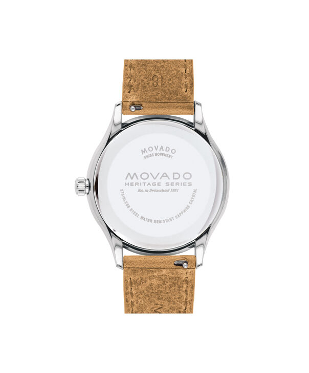 MOVADO Movado Heritage Series3650065 – Women's 36 mm strap watch - Back view