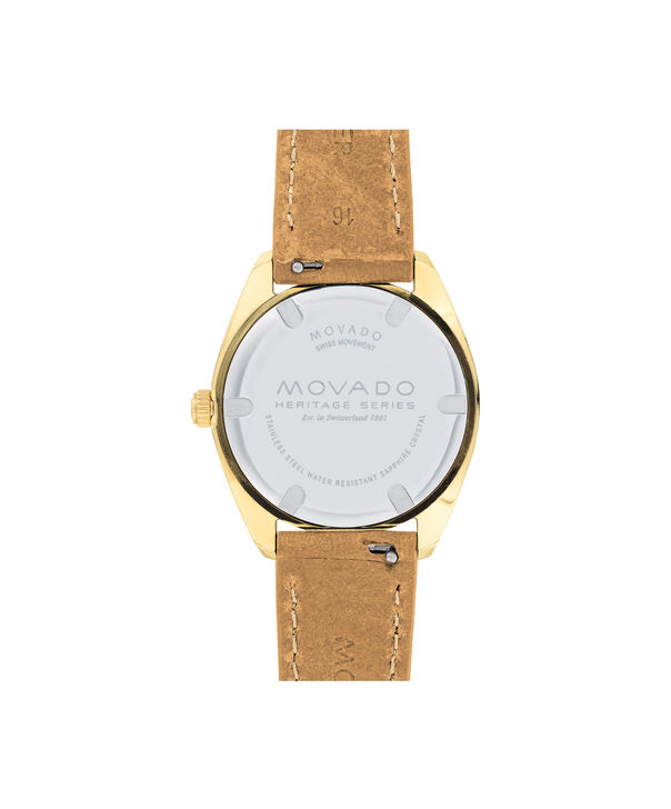 MOVADO Movado Heritage Series3650036 – Women's 31 mm strap watch - Back view