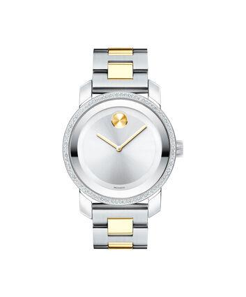 MOVADO Movado BOLD3600451 – 36 mm diamond bracelet watch - Front view