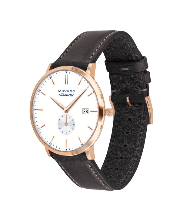 MOVADO Movado Heritage Series3650068 – Men's 40 mm strap watch - Side view