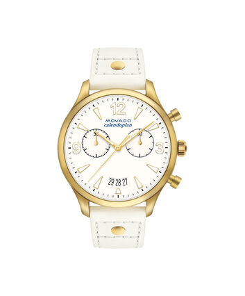 MOVADO Movado Heritage Series3650026 – Women's 38 mm strap chronograph - Front view
