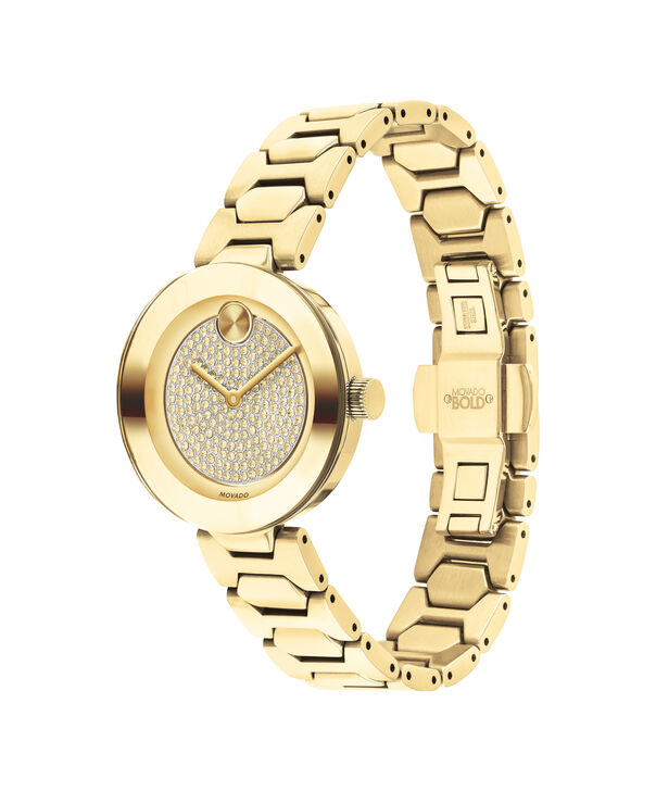 MOVADO Movado BOLD3600492 – 32 mm Metals bracelet watch - Side view