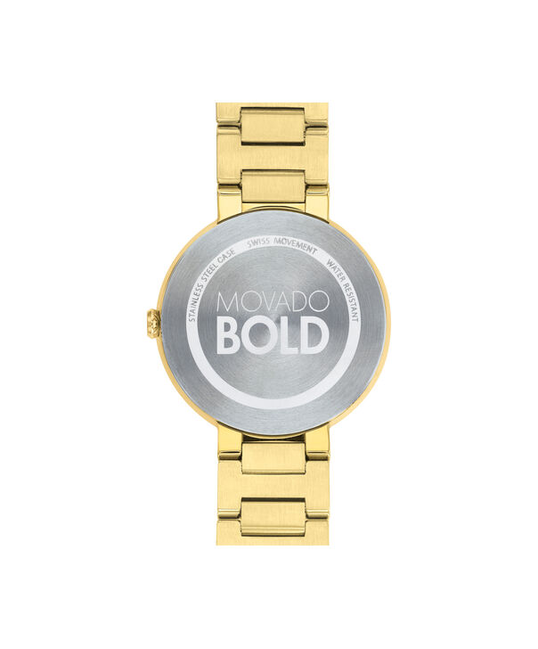 MOVADO Movado BOLD3600498 – 34 mm Metals bracelet watch - Back view