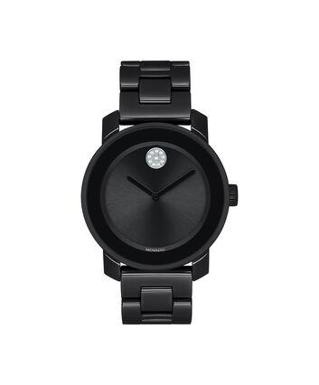 MOVADO Movado BOLD3600535 – 36 mm ceramic bracelet watch - Front view