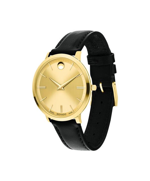 MOVADO Movado Ultra Slim0607157 – Women's 35 mm strap watch - Side view