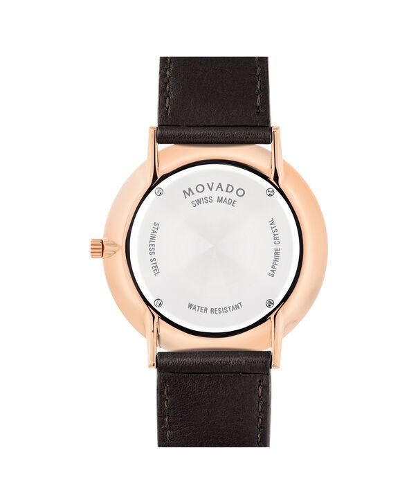 MOVADO Movado Ultra Slim0607089 – Men's 40 mm strap watch - Back view
