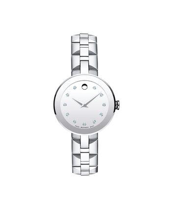 MOVADO Sapphire0606814 – Women's 28 mm bracelet watch - Front view
