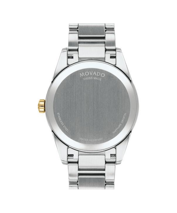 MOVADO Stratus0607245 – Men's 40 mm bracelet watch - Back view