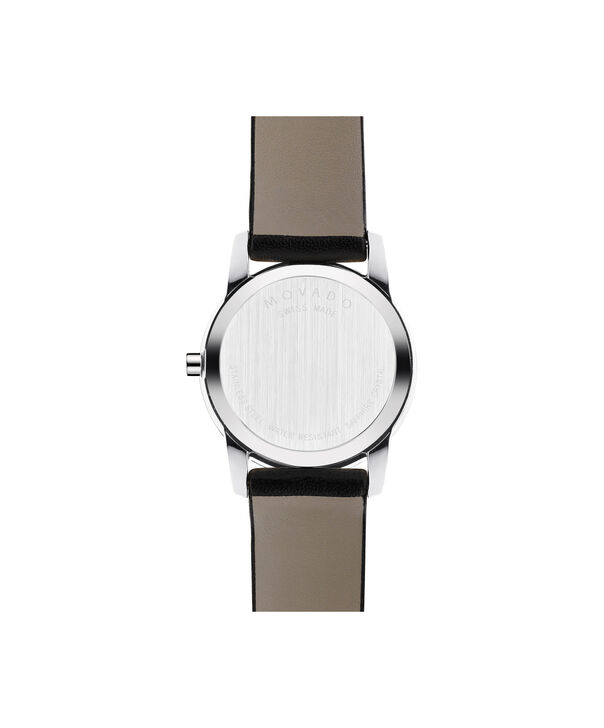 MOVADO Museum Classic0606503 – Women's 28 mm strap watch - Back view