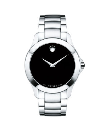 MOVADO Masino0607032 – Men's 40 mm bracelet watch - Front view