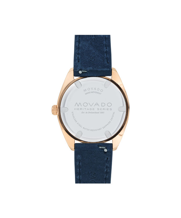 MOVADO Movado Heritage Series3650037 – Women's 31 mm strap watch - Back view