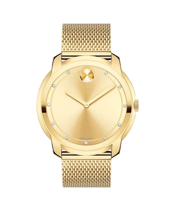 MOVADO Movado BOLD3600460 – 44mm flat mesh bracelet watch - Front view