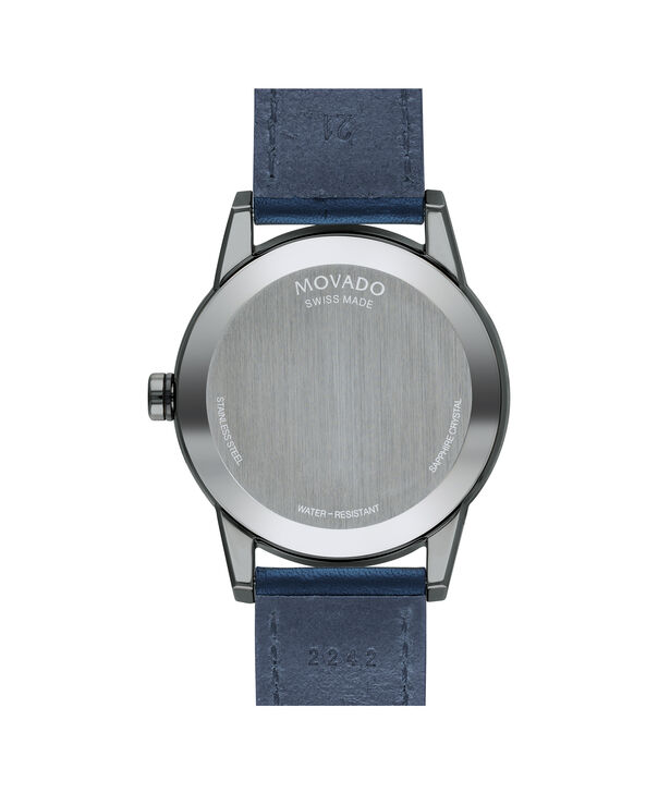 MOVADO Museum Sport0607263 – Men's 42 mm strap watch - Back view