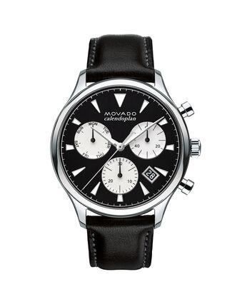MOVADO Movado Heritage Series3650005 – Men's 43 mm strap chronograph - Front view