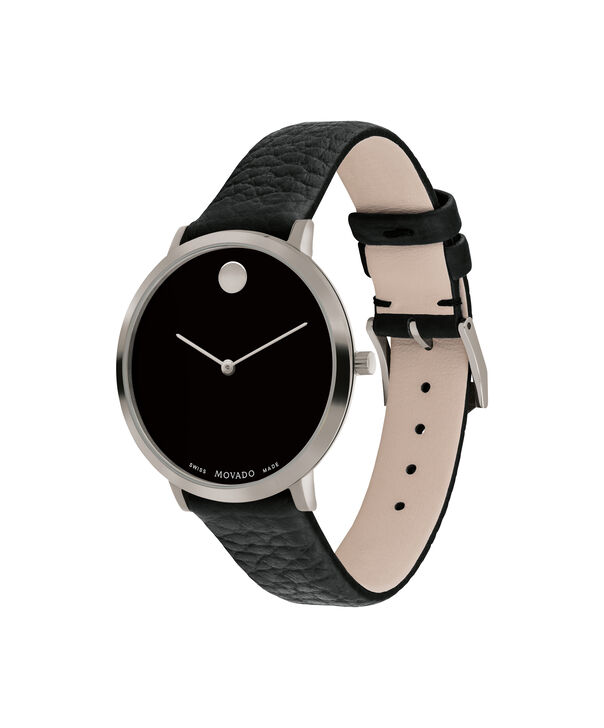MOVADO Modern 470607340 – 35 mm Modern 47 on Textured Strap - Side view