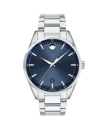 MOVADO Stratus0607244 – Men's 40 mm bracelet watch - Front view