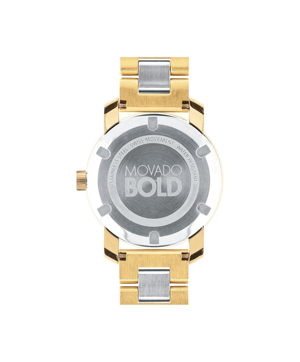 MOVADO Movado BOLD3600129 – 36 mm Metals bracelet watch - Back view
