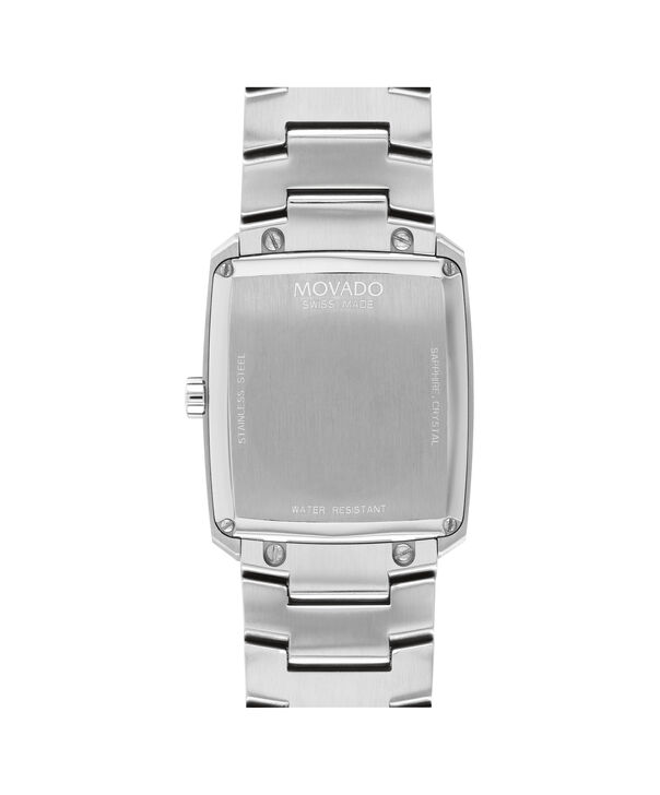 MOVADO Eliro0607186 – Men's 40 mm bracelet watch - Back view