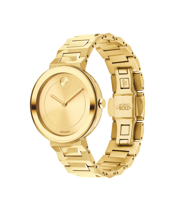 MOVADO Movado BOLD3600498 – 34 mm Metals bracelet watch - Side view