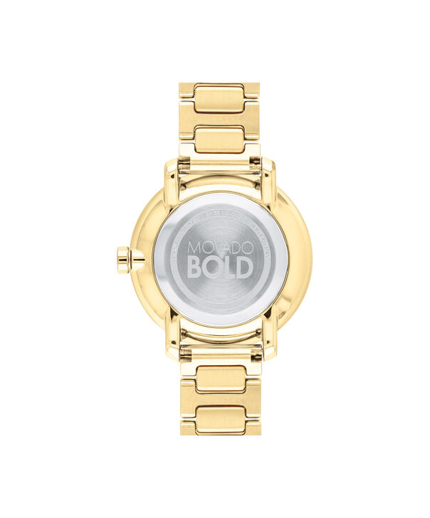 MOVADO Movado BOLD3600502 – 34 mm Metals bracelet watch - Back view