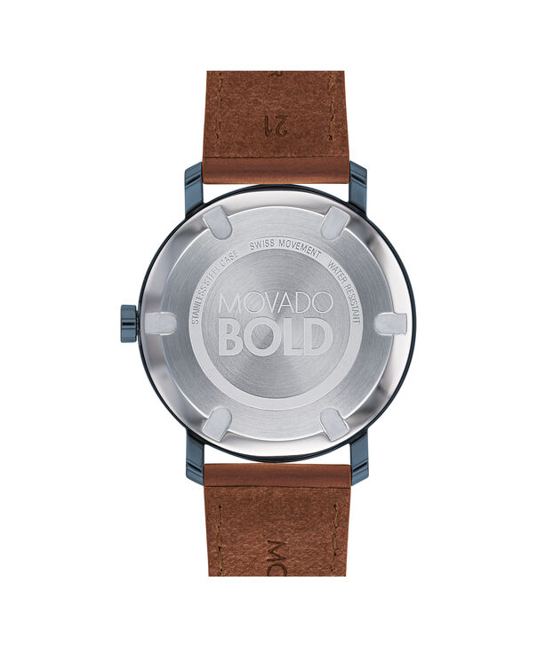 MOVADO Movado BOLD3600520 – Men's 40 mm strap watch - Back view