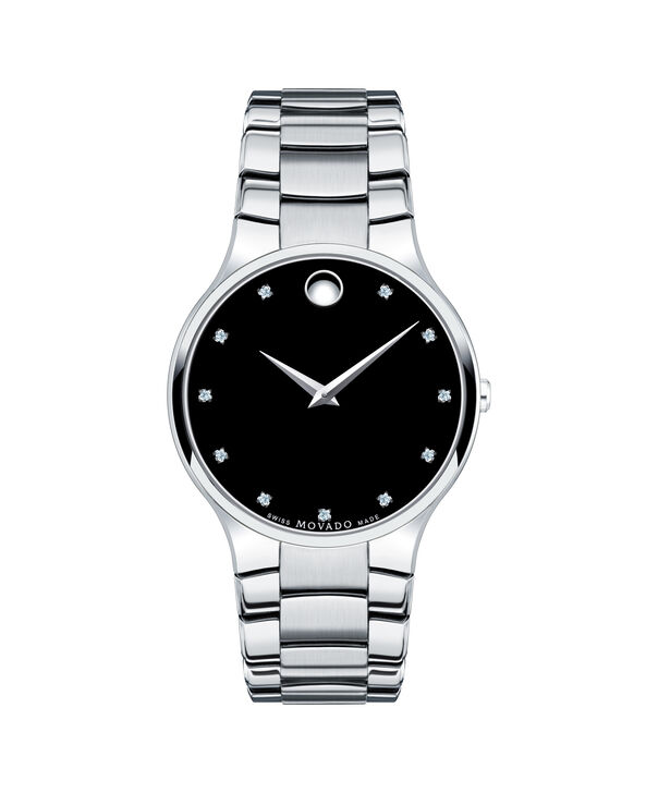 Movado | Serio Men's Stainless Steel Bracelet Watch