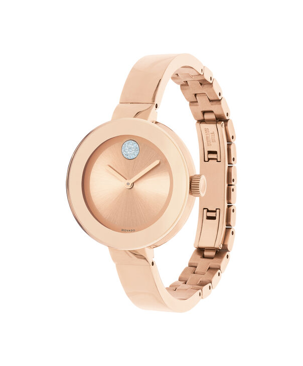 MOVADO Movado BOLD3600202 – 34 mm Metals bangle watch - Side view
