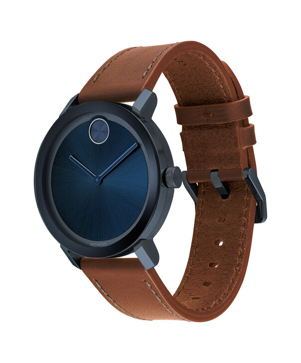 MOVADO Movado BOLD3600520 – Men's 40 mm strap watch - Side view