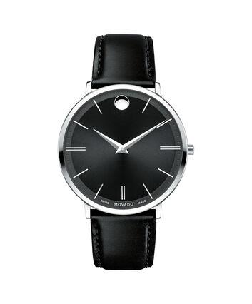 MOVADO Movado Ultra Slim0607086 – Men's 40 mm strap watch - Front view