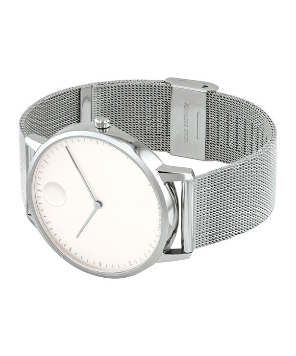 MOVADO Movado Face3640006 – Men's 41 mm bracelet watch - Side view