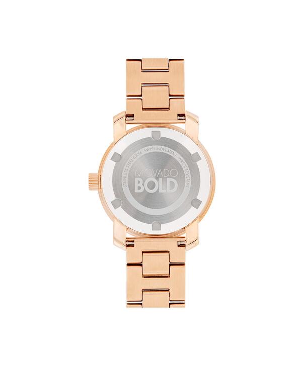MOVADO Movado BOLD3600435 – 30 mm Metals bracelet watch - Back view